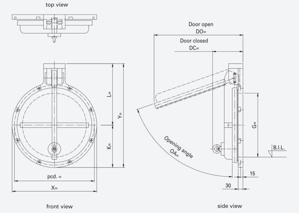 Hdpe Flap Valve Hdpe Headwall Design